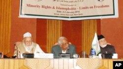 نئی دہلی میںبین الاقوامی فقہ سیمینار، اسلاموفوبیا میں اضافے پر اظہارتشویش