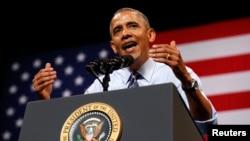 FILE - President Barack Obama, July 10, 2014.