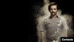 """El actor brasileño, Wagner Moura, hace el papel de Pablo Escobar en """"Narcos"""", de Netflix."""