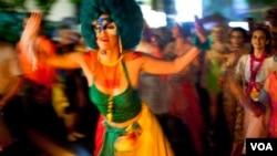"""La alcaldía de Rio lanzó por primera vez la campaña """"Rio: carnaval sin prejuicios"""", para luchar contra toda forma de discriminación."""