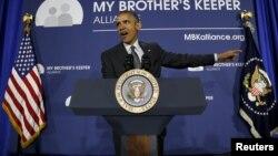 Presiden AS Barack Obama mendorong pemberian lebih banyak kesempatan bagi anak-anak muda dari masyarakat kurang mampu, Senin (4/5).