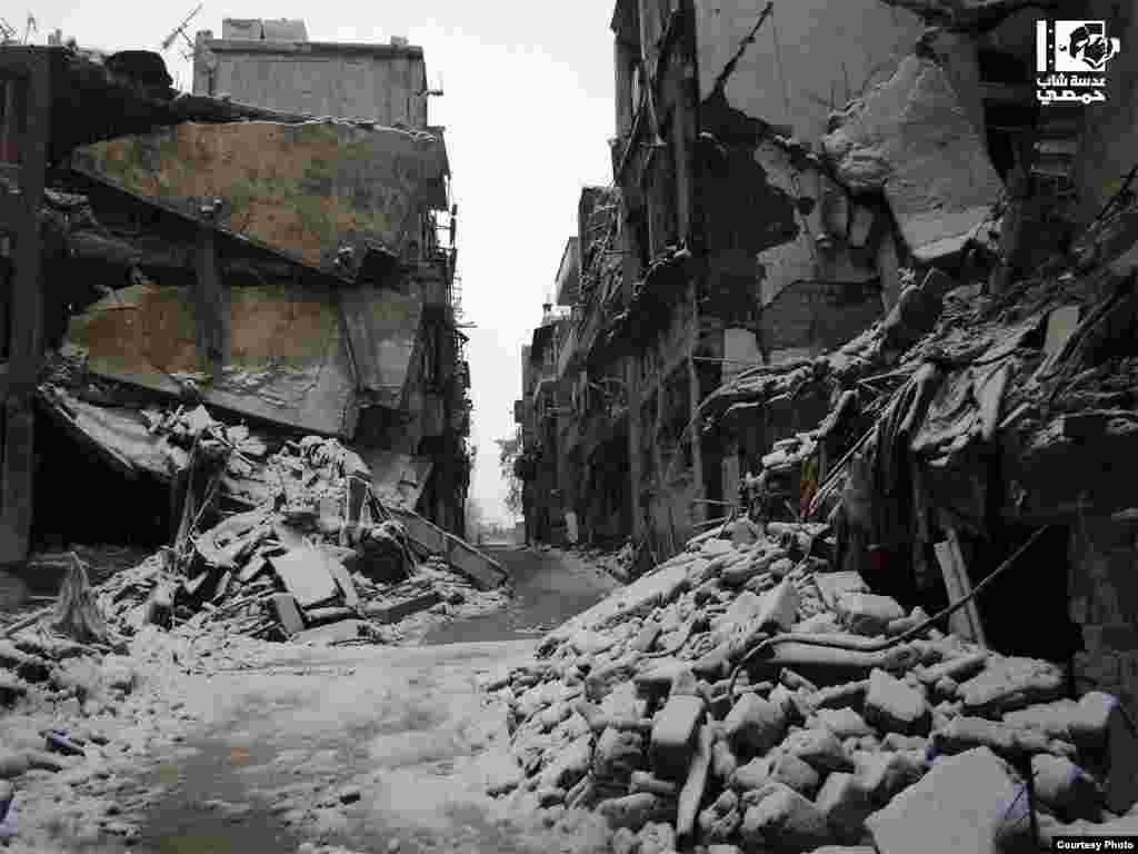 Колись жвавий торгівельний район Аль-Хамідія у Гомсі.