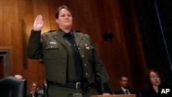 Carla Provost, directora interina de la Patrulla Fronteriza de EE.UU.