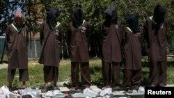 Haqqoniylar to'dasining qo'lga tushgan jangarilari, Kobul