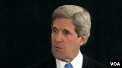 John Kerry fera parti des diplomates qui ont prévu de rencontrer à Londres des membres de l'opposition syrienne