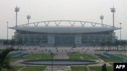 Một trong những cơ sở thể thao ở Việt nam là Sân vận động Mỹ Ðình ở Hà Nội có 40,192 chỗ ngồi