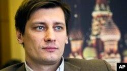Chính trị gia đối lập Nga Dmitry Gudkov.