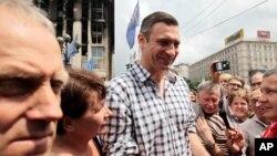Novi gradonačelnik Kijeva, bivši bokser Vitalij Kličko