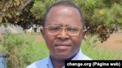 José Marcos Mavungo, activista Cabinda Angola