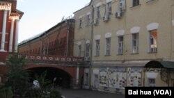 在莫斯科的一個東正教神學院