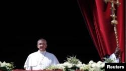 """El Papa Francisco hizo un llamado a la """"reconciliación"""" en Venezuela que se encuentra sumergida en una profunda crisis."""