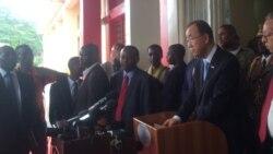 Les déclarations de Ban Ki-moon à Bujumbura