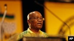 Perezida wa Afrika y'epfo, Jacob Zuma.