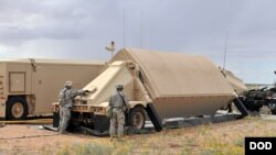 美國在南韓部署末端高空區域防御系統(THAAD,簡稱'薩德')