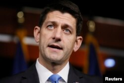 FILE - U.S. House Speaker Paul Ryan has taken heat for endorsing candidate Donald Trump.