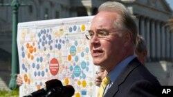 Dân biểu Tom Price là người từng chỉ trích luật chăm sóc y tế Obamacare.