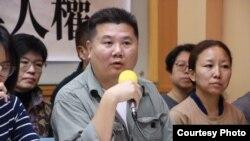紀錄片導演李惠仁(台灣人權促進會提供)