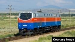 Локомотив серии TE33AC