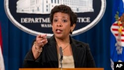 Jaksa Agung Amerika Loretta Lynch (foto: dok).