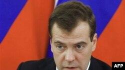 Predsednik Rusije Dmitrij Medvedev