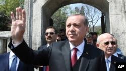 တူရကီသမၼတ Recep Tayip Erdogan