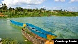Sehemu ya ziwa Victoria iliyopo nchini Uganda.