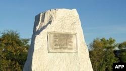 Spomenik Klari Barton na mestu nekadašnjeg bojnog polja kod Šarpsburga u Merilendu.