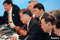 中国国务院副总理汪洋在第八轮美中战略与经济对话中讲话(2016年6月6日)