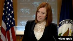 La vocera del Departamento de Estado, Jen Psaki, reiteró que las acusaciones de Maduro son falsas.