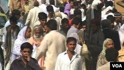 آبادی کی شرح میں تیزی سے اضافہ حکام کے لیے باعث پریشانی