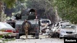 صحنه حمله در شهرنو کابل