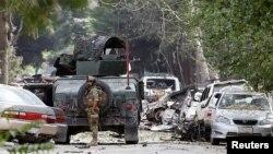 کابل خودکش حملہ (فائل)