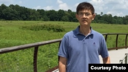 FILE - Professor Xi Xiaoxing, Chair of Department of Physics at Temple University in Pennsylvania. (Courtesy of Xi Xiaoxing)