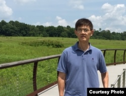 Chinese-born Professor Xi Xiaoxing, Chair of Department of Physics at Temple University in Pennsylvania (Courtesy of Xi Xiaoxing)