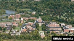 The University of Rochester pictured. The top three reasons for falling international student numbers between 2017-2019 in the U.S. include the social and political environment, the difficulties getting a student visa, and competition from other countries' universities. (Official website)