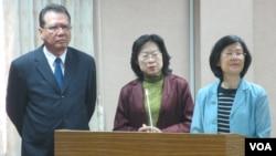台湾官员星期三在立法院就肯尼亚电信诈骗案接受质询