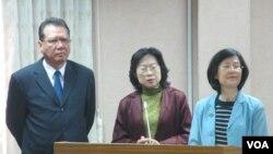 台灣官員星期三在立法院就肯尼亞電訊詐騙案接受質詢