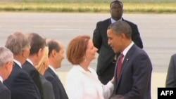 Prezident Obama Asiya səfərindən qayıtdı