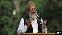 جماعت اسلامی کے سابق امیر سید منور حسن — فائل فوٹو