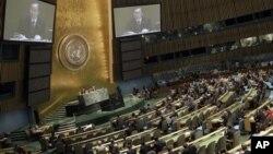 지난 6월 유엔 총회에서 시리아 제재안을 논의 중이다. (자료사진)