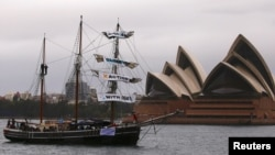 Hình minh họa. Sydney Opera House, Úc.
