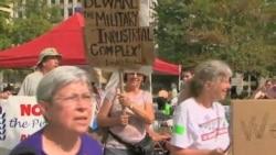 占领华盛顿示威者拒绝收兵