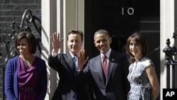 اوباما برطانیہ کا 'اسٹیٹ' دورہ کرنےوالے دوسرے صدرِ امریکہ