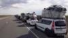 Yuzlab muhojirlar Rossiya-Qozog'iston chegarasida turib qoldi