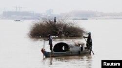 柬埔寨的水上人(路透社資料照)