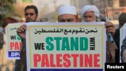 شهر های اسلام آباد و کراچی نیز شاهد اعتراضات رئیس جمهور امریکا بود
