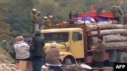 KFOR-i mirëpret largimin e barrikadave në veriun e Kosovës