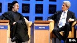 خاتمی و جان کری، بعد از دوران ریاست جمهوری خاتمی، در آمریکا