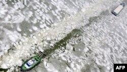 Rusiyanın atom buzqıran gəmisində yanğın olub