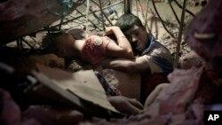 达卡郊区制衣厂火灾受害者
